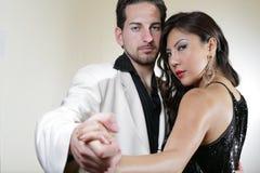 Weißer Tanz Lizenzfreie Stockfotos