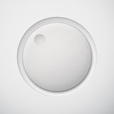 Weiße Technologie-weißer Volumen-Knopf Lizenzfreie Stockbilder