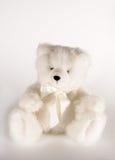 Weißer Teddybär Lizenzfreie Stockfotos