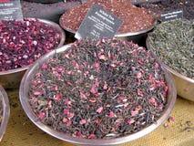 Weißer Tee mit Granatapfel Lizenzfreie Stockbilder
