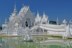Weißer Tempel stockfoto
