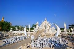 Weißer Tempel Stockbild