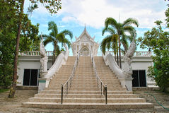 Weißer Tempel Lizenzfreie Stockbilder