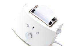 Weißer Toaster Stockfoto