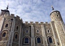 Weißer Turm am Tower von London lizenzfreie stockfotografie