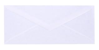 Weißer Umschlag Lizenzfreies Stockfoto
