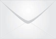 Weißer Umschlag Lizenzfreie Abbildung