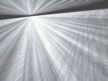 Weißer und blauer Hintergrund - extrahieren Sie digital erzeugtes Bild Stockbilder