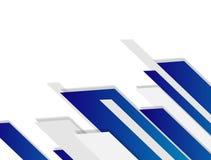 Weißer und grauer geometrischer Hintergrundvektor des modernen Designs des abstrakten Technologiehintergrundes Lizenzfreie Stockfotografie