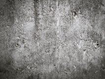 Weißer und schwarzer alter Zement der alten Zementwand-Beschaffenheit Stockbilder