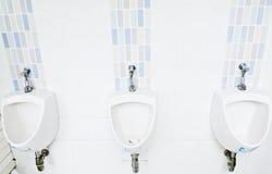Weißer Urinal stockfotografie