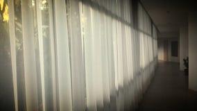 Weißer Vorhang lizenzfreies stockbild