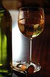 Weißer Wein lizenzfreies stockbild