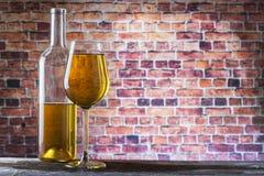 Weißer Wein Stockfoto
