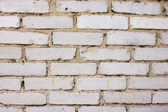 Weißer Ziegelstein Stockfoto