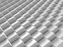 Weißer Ziegelstein blockiert abstrakten Hintergrund Lizenzfreies Stockfoto