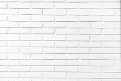 Weißer Ziegelstein wal Lizenzfreies Stockfoto