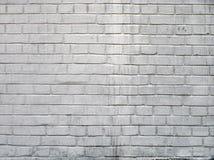 Weißer Ziegelstein wal Stockfotos
