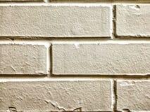 Weißer Ziegelsteinhintergrund der Wand lizenzfreies stockbild