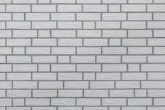 Weißer Ziegelsteinwandhintergrund lizenzfreie stockfotos