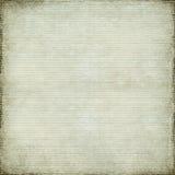 Weißes antikes Papier und Bambus gesponnener Hintergrund Stockbild
