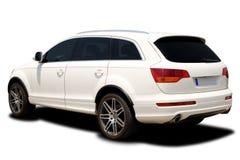 Weißes Auto lizenzfreie stockfotografie