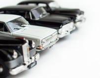 Weißes Auto Stockfoto