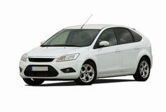 Weißes Auto Stockfotos