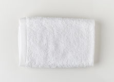Weißes Badekurorttuch Stockbilder