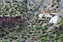 Weißes Berg-Apache-Indianerreservat, Arizona, Vereinigte Staaten Stockfotografie