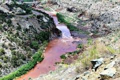 Weißes Berg-Apache-Indianerreservat, Arizona, Vereinigte Staaten Lizenzfreie Stockbilder