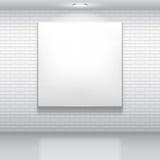 Weißes Bild. Stockbild