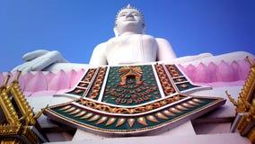 Weißes Bild von Buddha Lizenzfreies Stockfoto