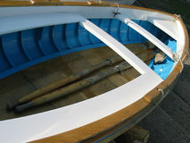 Weißes Boot Stockfotografie