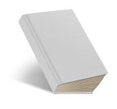 Weißes Buch der harten Abdeckung Stockfotos