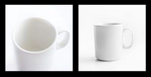 Weißes Cup Lizenzfreies Stockfoto