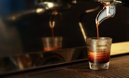 Weißes Cupkaffee-Espresso Stockbild