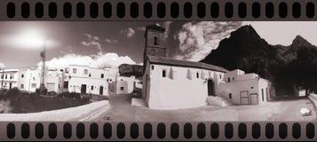 Weißes Dorf Lizenzfreies Stockbild