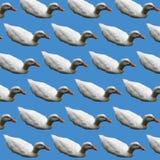 Weißes Duck Polygon Art Stockfotografie