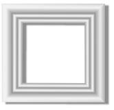 Weißes Feld Stockfotografie