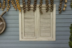 Weißes Fenster Lizenzfreies Stockbild