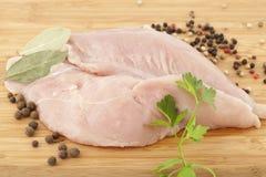 Weißes Fleisch Stockfoto