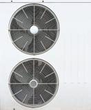 Weißes Gebläse der Klimaanlagen Lizenzfreies Stockbild