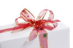 Weißes Geschenk Stockbild
