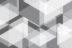 Weißes Grey Geomatric Abstract Background Stockfoto