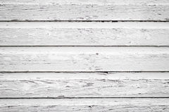 Weißes hölzernes Abstellgleis Lizenzfreie Stockbilder