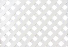 Weißes hölzernes Gitter lizenzfreie stockfotos