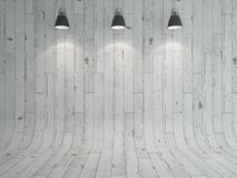 Lampe und Laminat Lizenzfreie Stockfotos