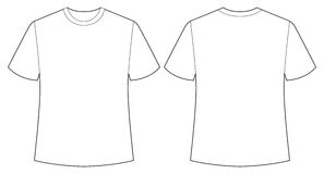 Weißes Hemd vektor abbildung