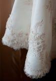 Weißes Hochzeitskleid Lizenzfreie Stockfotografie
